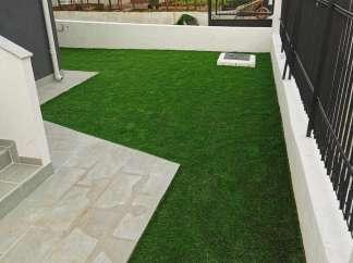 Sutradan umjetna trava je spremna za završne radove